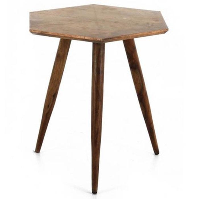 table basse en bois de rose d 39 inde jardindeco la redoute. Black Bedroom Furniture Sets. Home Design Ideas