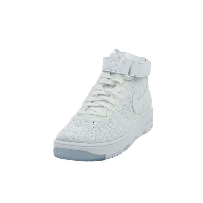 Basket nike air force 1 ultra flyknit - 818018-100 blanc Nike