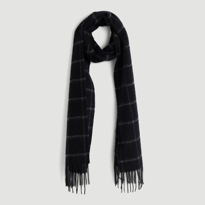 Echarpe en laine noir Monoprix   La Redoute 1781f14e86d