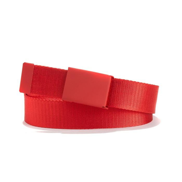 consegna gratuita nuovo concetto all'ingrosso online Cintura cinghia rosso La Redoute Collections   La Redoute