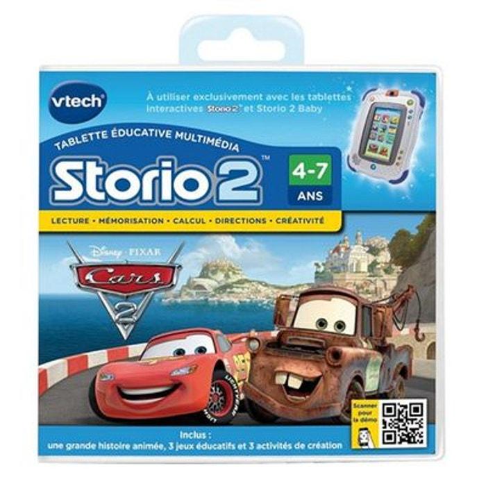 Cars 2 - Jeu Storio - VT230105 VTECH