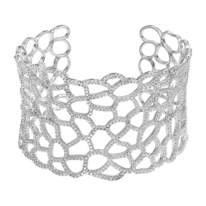 Bracelet argent 925/1000 oxyde argente Cleor | La Redoute Vente 2018 Vue Jeu BEgPJdF