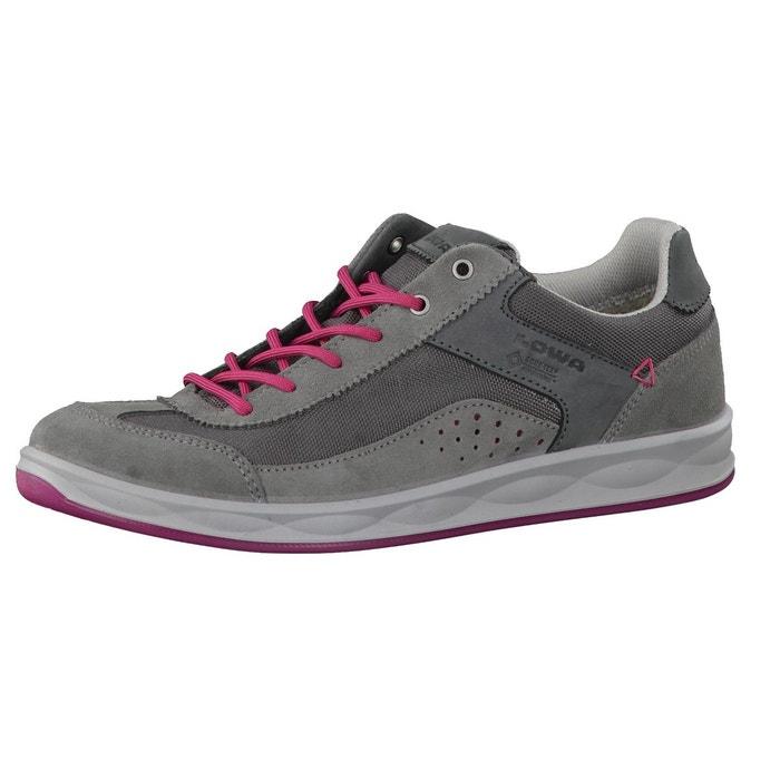 Chaussures de course san luis gtx® lo ws 320804-9051 gris - rose vif Lowa