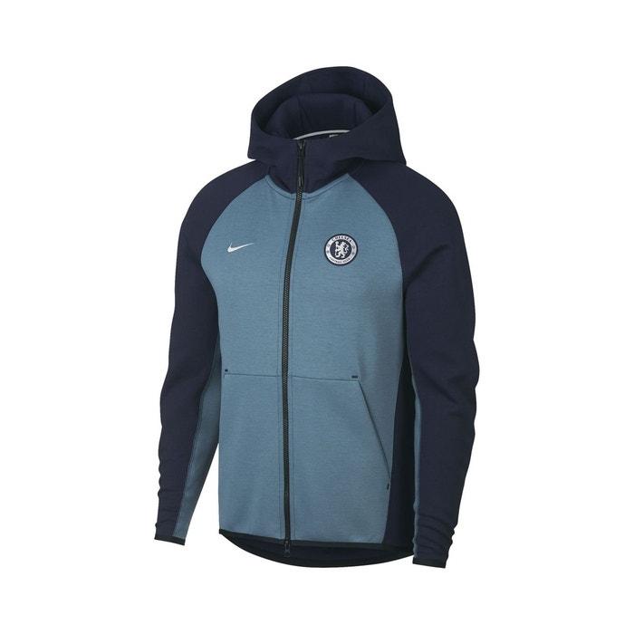 best authentic 0d60d de2c3 Veste à capuche chelsea tech fleece bleu bleu Nike   La Redoute