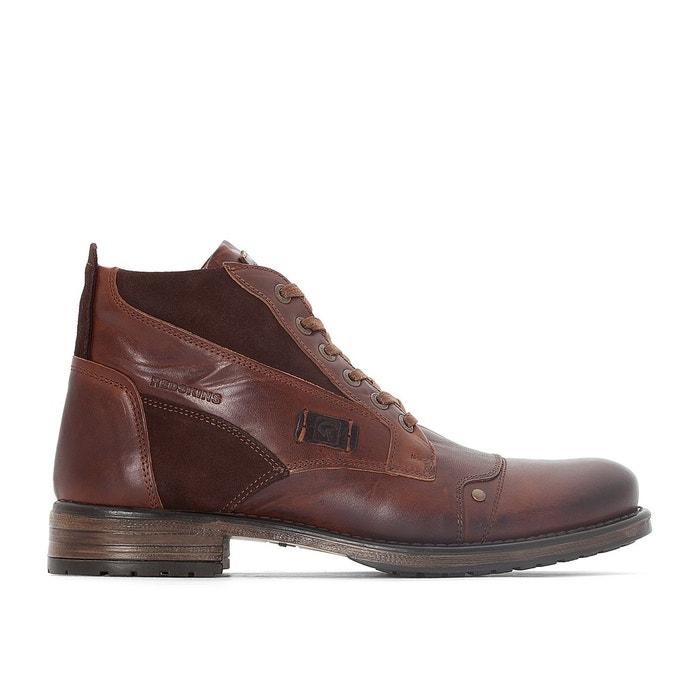 Chaussures à lacets cuir  marron Redskins  La Redoute