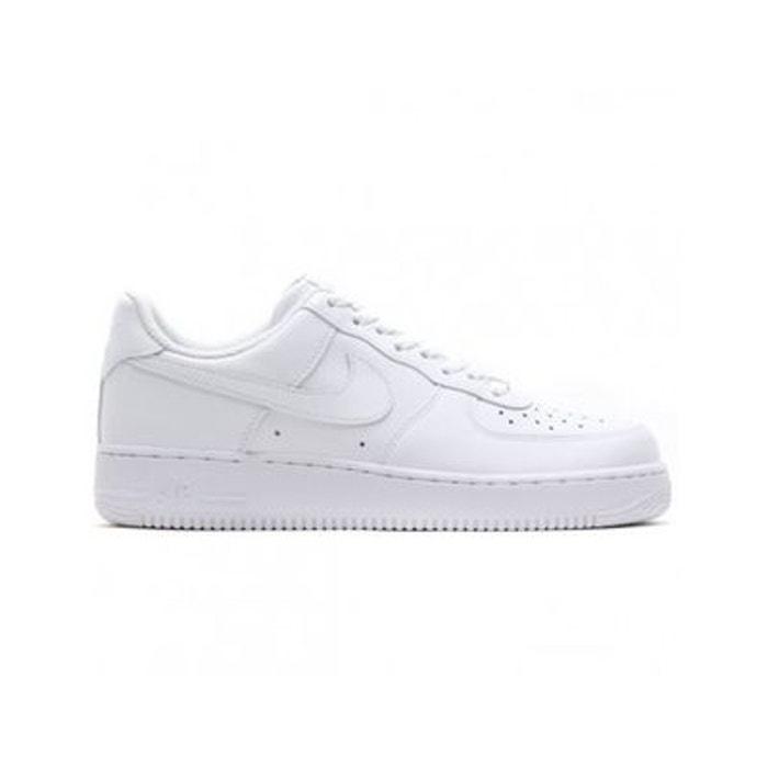 best service b4e5d 5b400 Baskets cuir air force 1 10 blanc Nike   La Redoute