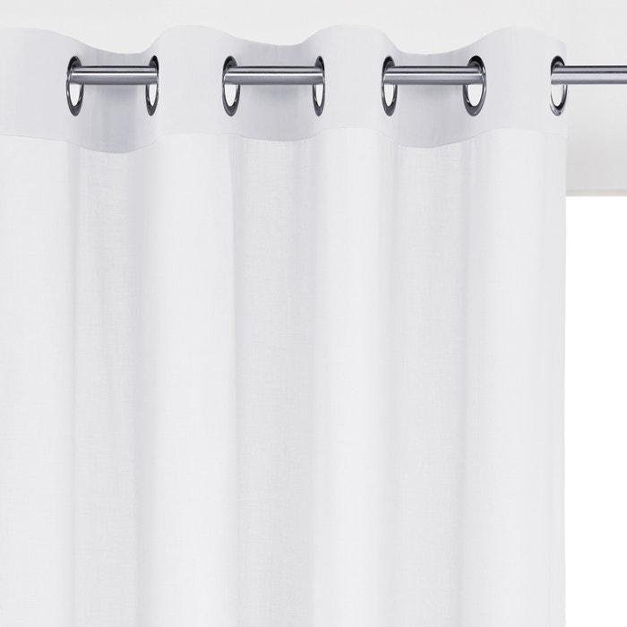 Image Cotton Voile Panel with Eyelet Header SCENARIO