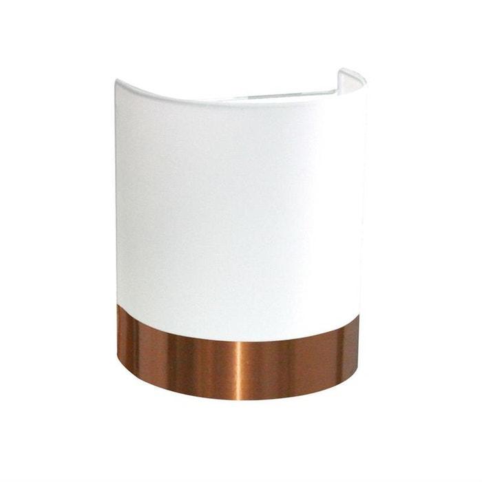 copper applique murale blanc cuivre h24cm applique metropolight design par couleur unique. Black Bedroom Furniture Sets. Home Design Ideas