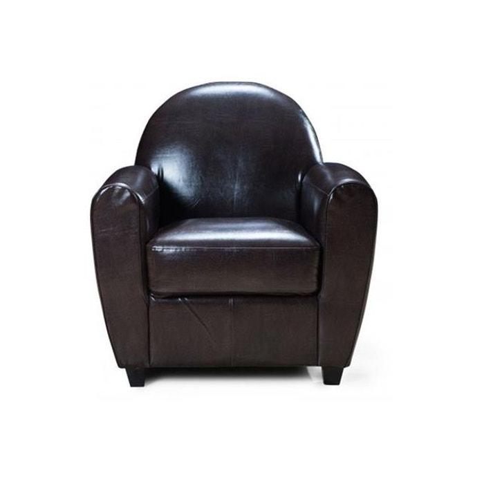 fauteuil club marron patricia marron declikdeco la redoute. Black Bedroom Furniture Sets. Home Design Ideas