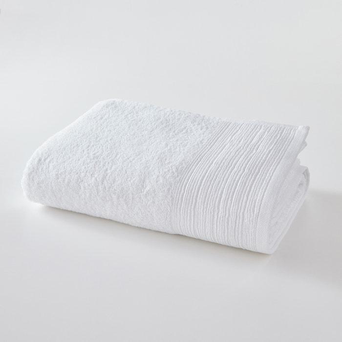 maxi drap de bain uni ponge coton biologique scenario la redoute. Black Bedroom Furniture Sets. Home Design Ideas