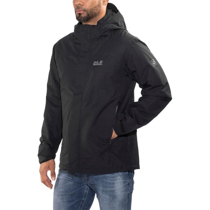 Northern edge - veste homme - noir noir Jack Wolfskin   La Redoute 6e75409c4c10
