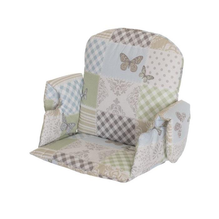 Reducteur Avec Accoudoir Pour Chaise Haute Tissus Patchwork Papillon Geuther