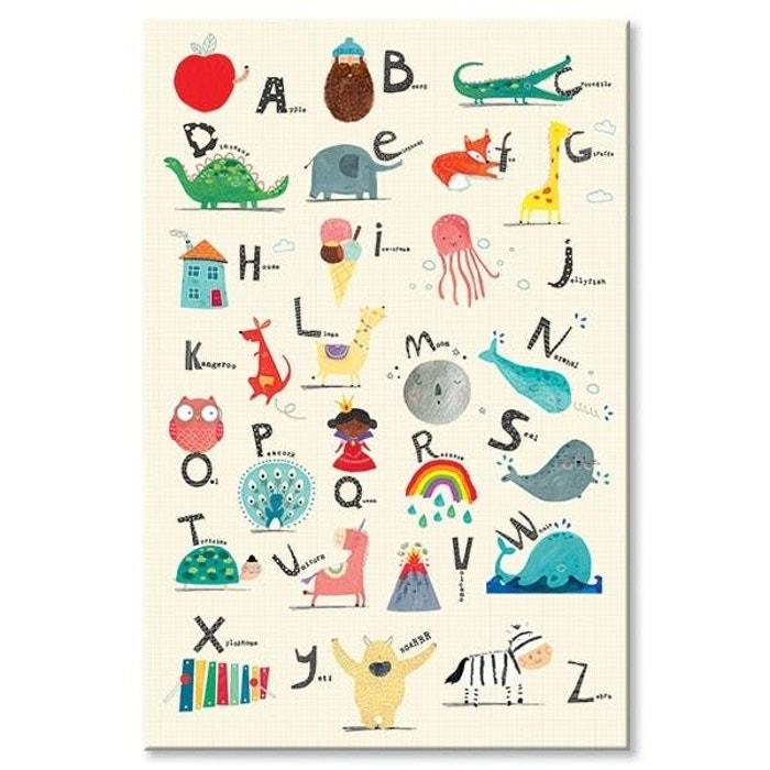 Tableau Enfant Alphabet En Anglais Multicolore Pier Import La Redoute