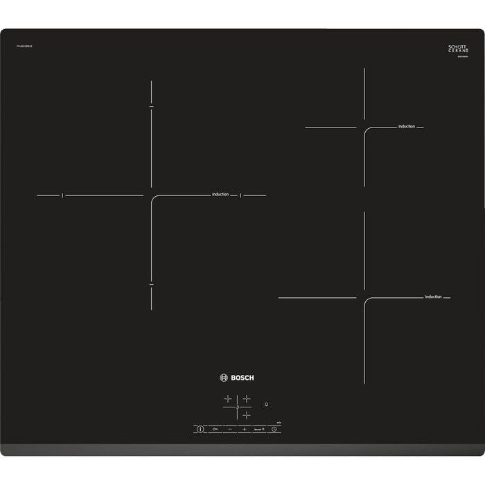 Table De Cuisson Induction Puj631bb1e Noir Bosch La Redoute