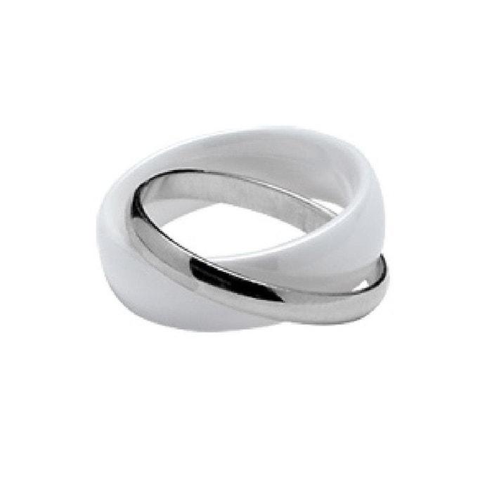 Extrêmement Bague trois anneaux argent | La Redoute EK54