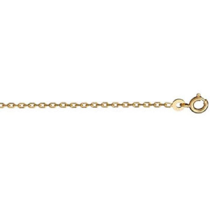Collier chaîne mixte 50 cm maille forçat 2 mm plaqué or 750 couleur unique So Chic Bijoux   La Redoute