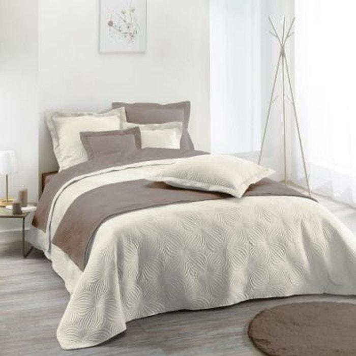 couvre lit matelass 220x240 florencia home maison la redoute. Black Bedroom Furniture Sets. Home Design Ideas