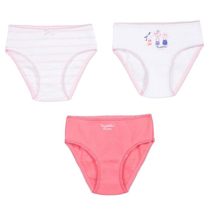 Image Confezione da 3 culotte da 2 a 12 anni ABSORBA