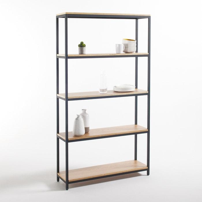 grote etag re 5 legplanken metaal en hout talist la redoute interieurs la redoute. Black Bedroom Furniture Sets. Home Design Ideas