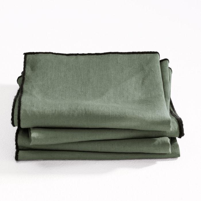 afbeelding Servetten Suzy gewassen linnen (set van 4) AM.PM.