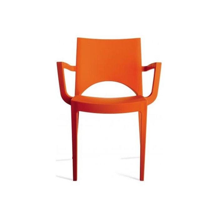 chaise design orange turin orange declikdeco la redoute. Black Bedroom Furniture Sets. Home Design Ideas