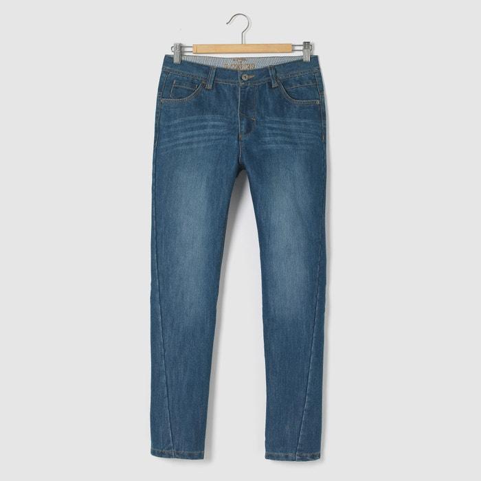 afbeelding Slim jeans met draaiende naden La Redoute Collections