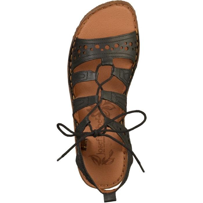 Sandales noir Josef Seibel