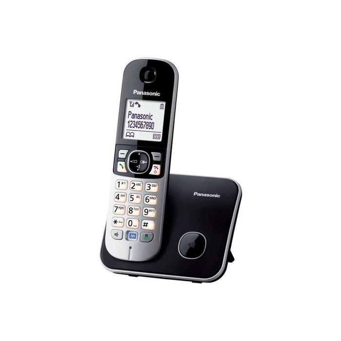 T l phone panasonic kx tg6811 couleur unique panasonic la redoute - La redoute telephone gratuit ...