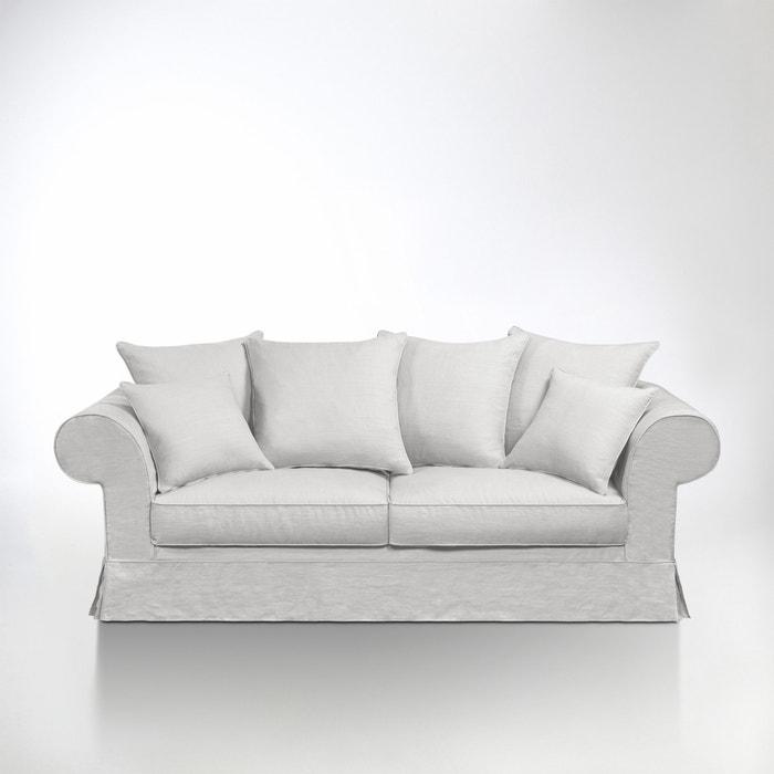afbeelding Omvormbare Bultex canapé, gekreukt linnen, Adelia La Redoute Interieurs