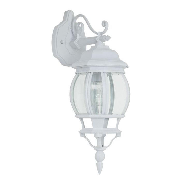 ISTRIA - Applique d'extérieur descendante Blanc H50cm - Luminaire d'extérieur Brilliant designé par