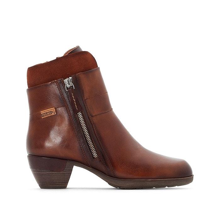Boots en cuir rotterdam 902 marron Pikolinos Nouvelle Ligne Pas Cher Prix Wiki Pas Cher Amazon Vente Pas Cher YJphyB