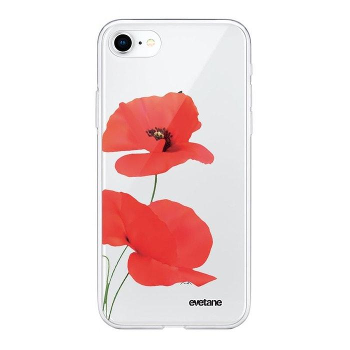 coque coquelicot iphone 7