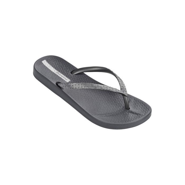Tongs mesh ii gris et argenté gris Ipanema