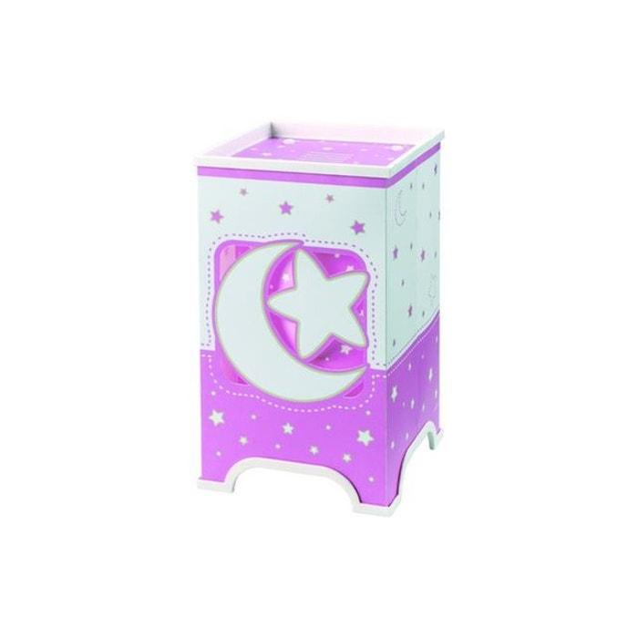 lampe de chevet rose moon dalber 63230 multicolore. Black Bedroom Furniture Sets. Home Design Ideas