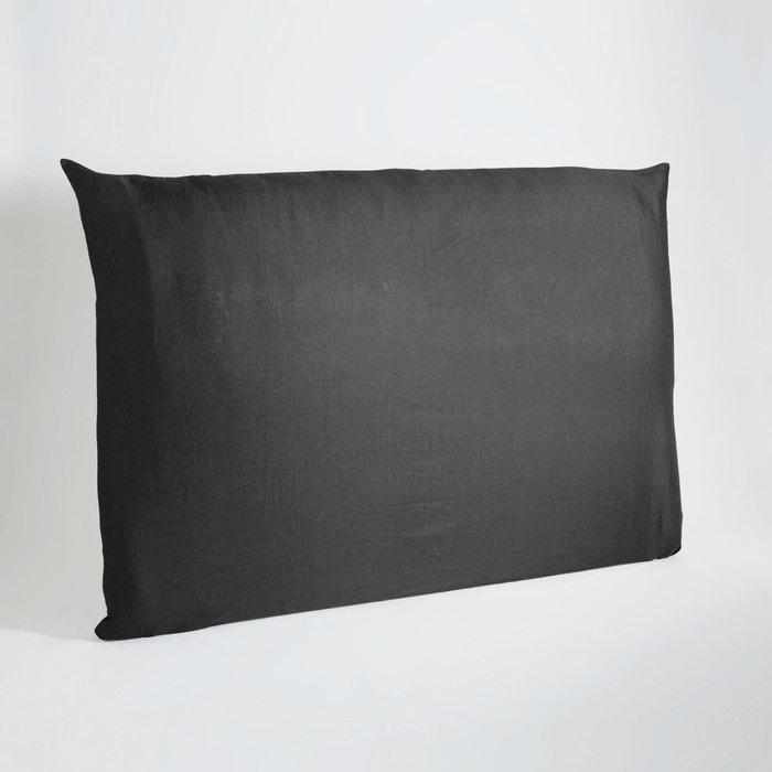 housse de t te de lit lin lav pam am pm la redoute. Black Bedroom Furniture Sets. Home Design Ideas