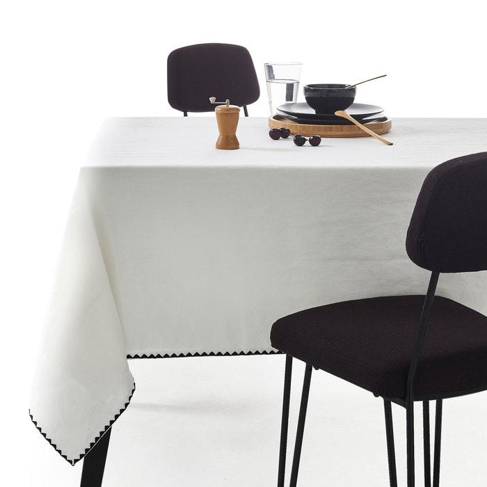 """Tischdecke """"Adrio"""", Leinen/Baumwolle  La Redoute Interieurs image 0"""