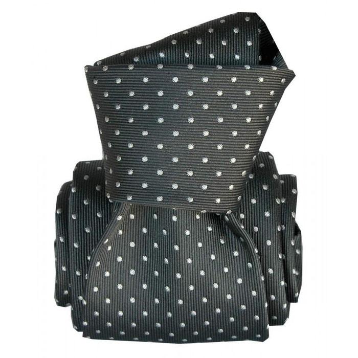 Cravate segni disegni luxe, faite main, artemis noir noir Segni Et Disegni | La Redoute