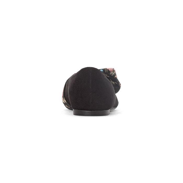 Ballerines pointues détail nœud noir Mademoiselle R