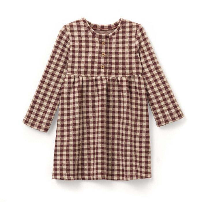 Image Robe à carreaux 1 mois - 3 ans La Redoute Collections