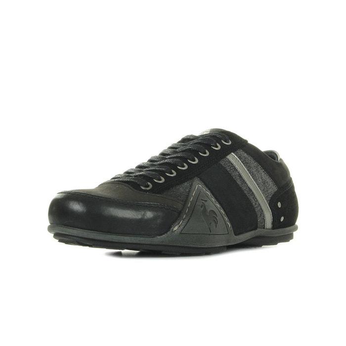 Baskets homme turin chambray  noir gris Le Coq Sportif  La Redoute
