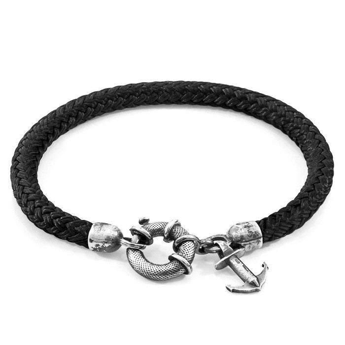 Acheter Prix Bon Marché Visiter Le Nouveau En Ligne Bracelet salcombe argent et corde Anchor & Crew | La Redoute Jeu Vraiment iER3a