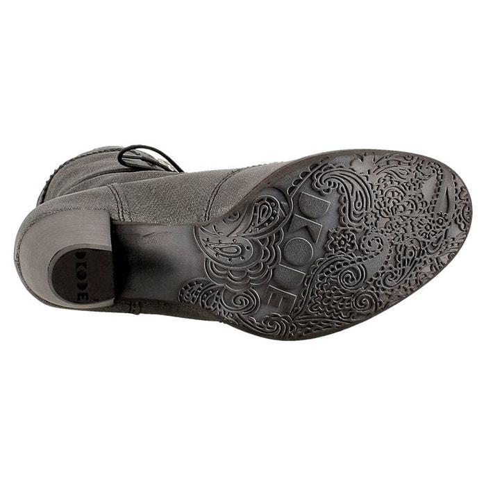 DKODE DKODE cuir boots bottines cuir DKODE bottines boots T4qqI5