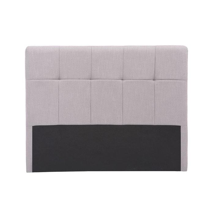 t te de lit classique tissu 140cm clovis miliboo la redoute. Black Bedroom Furniture Sets. Home Design Ideas