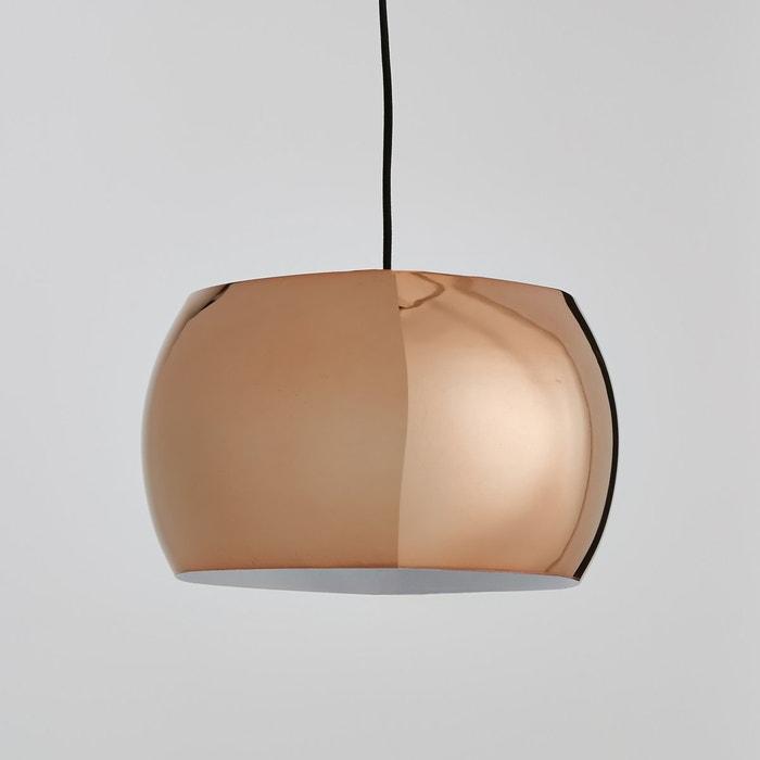 afbeelding Bolvormige koperen hanglamp, Elori La Redoute Interieurs
