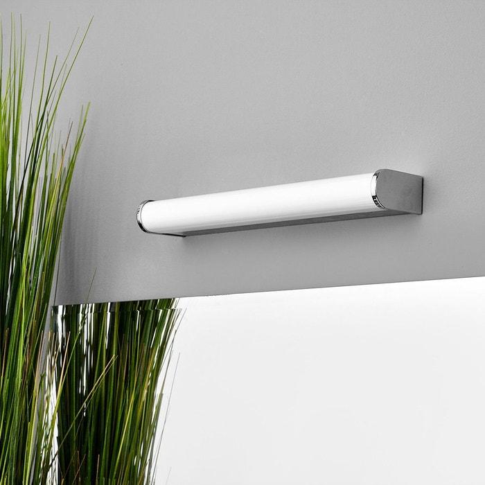Applique pour salle de bains led philippa chrome blanc for Applique salle de bain zen