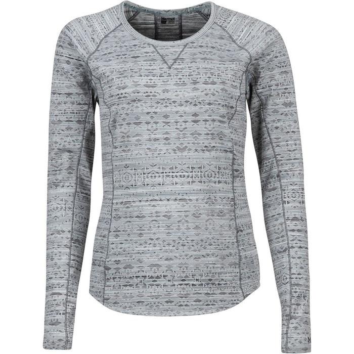 acccce24c2f Sylvie - t-shirt manches longues femme - gris gris Marmot