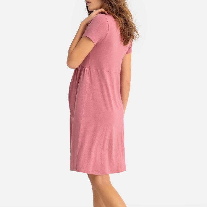 a852076a530 Camisón de embarazo y lactancia rosa La Redoute Maternité