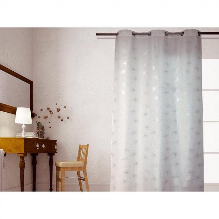 rideau strass blanc 140x240 terre de nuit blanc terre de. Black Bedroom Furniture Sets. Home Design Ideas