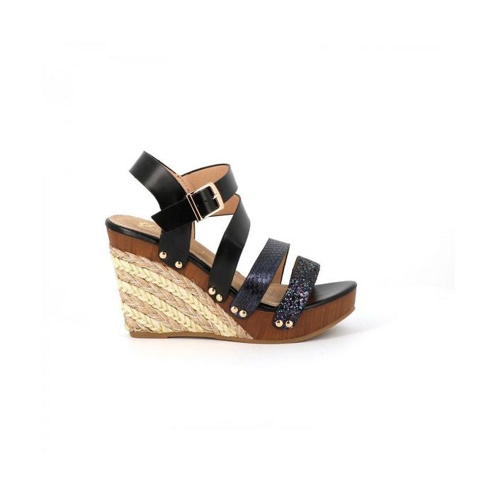 Sandales plateforme BACOPA CASSIS COTE D'AZUR