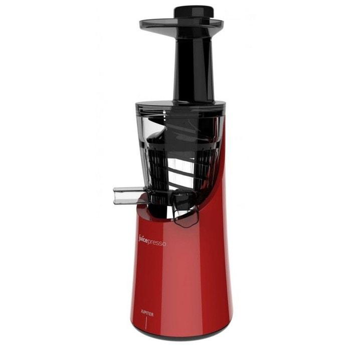 extracteur de jus vertical juicepresso plus rouge jupiter rouge jupiter la redoute. Black Bedroom Furniture Sets. Home Design Ideas